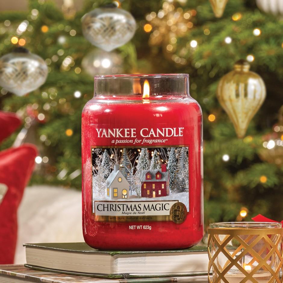"""Résultat de recherche d'images pour """"yankee candle magie de noel"""""""